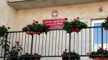 Teren wokół szkoły podstawowej nr 14 w Gorzowie