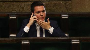 Poseł PiS Łukasz Rzepecki