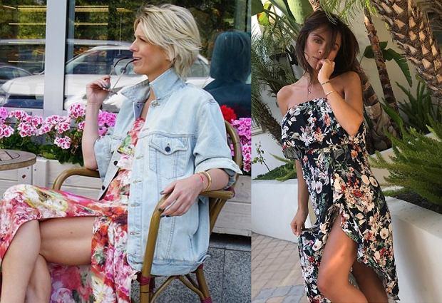 Magda Mołek podziwiana jest nie tylko za styl prowadzenia wywiadów, ale również sposób ubierania się. Dziennikarka od lat trzyma się eleganckiej garderoby, którą urozmaica aktualnymi trendami. Jednym z jej ulubionych wzorów na lato są kwiaty - w tym sezonie wyjątkowo modne. Zobacz jak noszą je również inne gwiazdy!