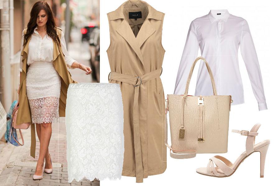 fd1559281d Koronkowe ubrania na wiosnę  modne stylizacje z koronką w roli głównej