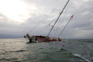 """Gdyński jacht """"Zjawa IV"""" uratowany!"""