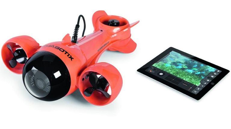 Submarine Camcorder przekazuje na twój tablet obrazy nawet z głębokości 30 m