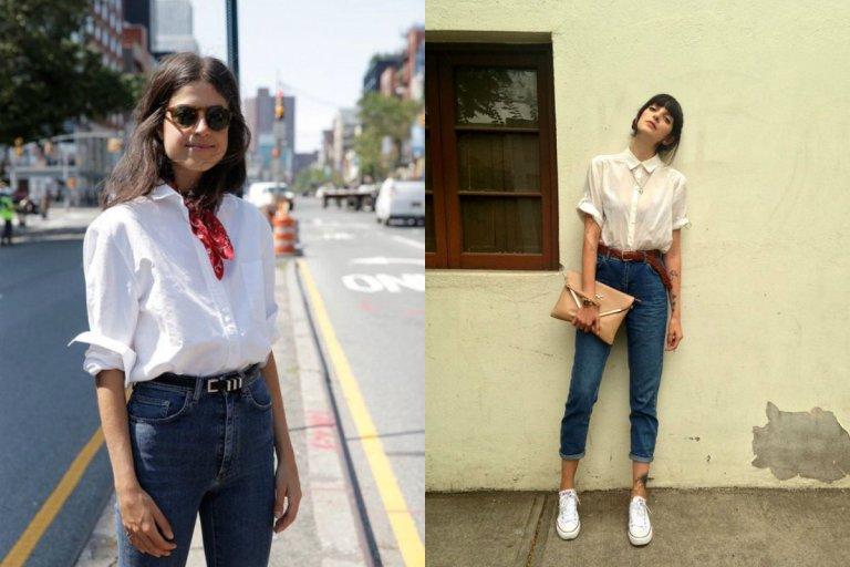 Spodnie z wysokim stanem - z czym je nosi�