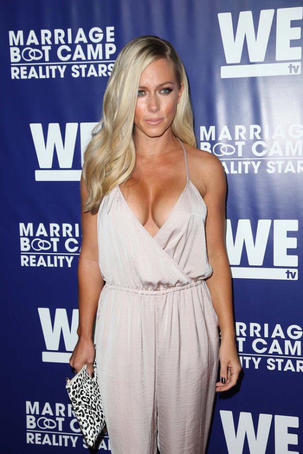 Celebrities attend the premiere party for the third season of Marriage Boot Camp Reality Stars hosted by WE tv at HYDE Sunset: Kitchen + Cocktails on May 28, 2015 in West Hollywood, California.  Pictured: Kendra Wilkinson Baskett