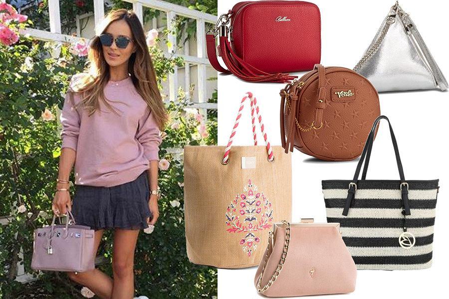 Kolaż, modne torebki/Materiały partnera