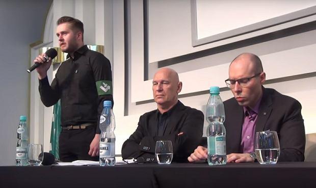 Zdjęcie numer 1 w galerii - Narodowcy zorganizowali sobie debatę w siedzibie SDP. Oskarżali Dudę o sprzyjanie Żydom