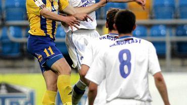 Michał Szubert (na zdjęciu) zdobył bramki po podaniu Sulewskiego. Czy Koziara otrzyma wkrtóce szansę debiutu?