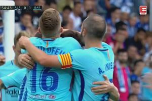 Barcelona pokonała Alaves. Dwa gole Messiego