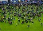 Zamachy we Francji. Ewakuacja stadionu Stade de France po meczu Francji z Niemcami