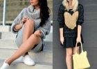 Street fashion: spos�b na sweter z grubym splotem wed�ug Czytelniczek Avanti