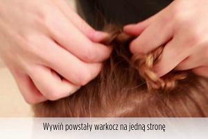 Fryzury dla długich włosów: odwrócony warkocz dobierany