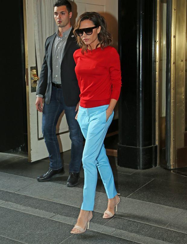 Zdjęcie numer 2 w galerii - David Beckham wybrał najlepszą stylizację Victorii EVER. Koronki? Kusa sukienka? Nic z tych rzeczy