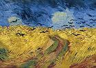 """Arno dzień po dniu o sześciu wyjątkowych obrazach van Gogha. Dziś """"Pole pszenicy z krukami"""""""