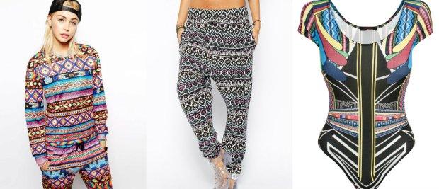 e6fde9e2be Zakupy w sieci  ubrania w azteckie printy ze sklepów internetowych