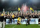 Pseudokibice zatrzymani na Stadionie Wrocław podczas meczu. Jeden zaatakował ochroniarza