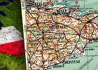 Ta mapa miała służyć żołnierzom PRL w Wielkiej Brytanii. Nazwy miast zostały spolszczone