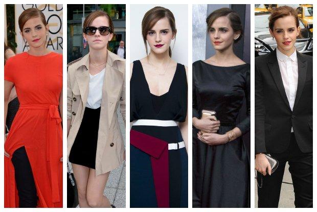 Emma Watson - nowa kr�lowa stylu? Zmiana stylistki wysz�a jej na dobre [ZDJ�CIA]