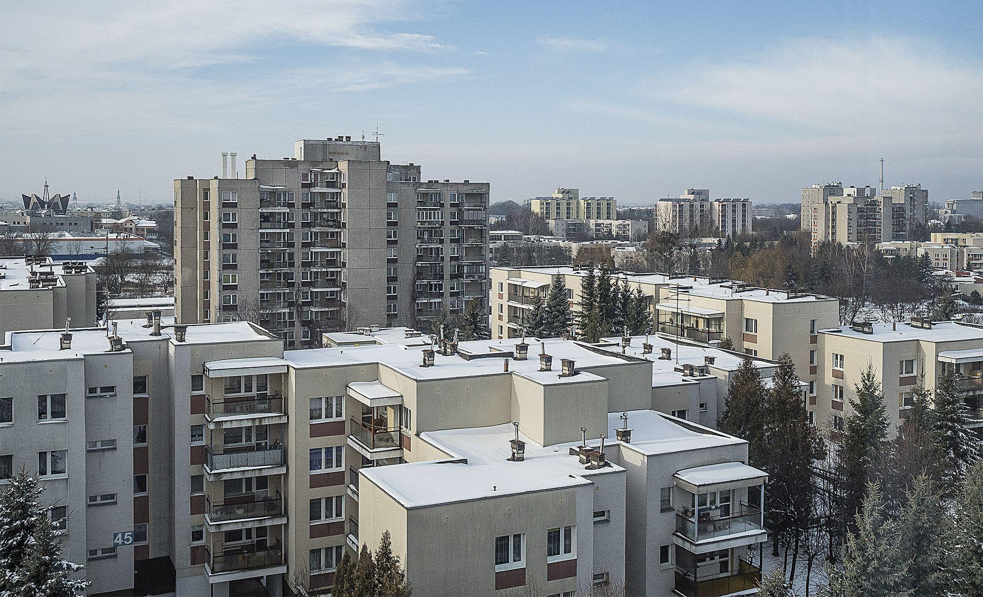 Osiedle Zamoyskiego nazywane jest zamojskim Nowym Miastem II (fot. Filip Springer)