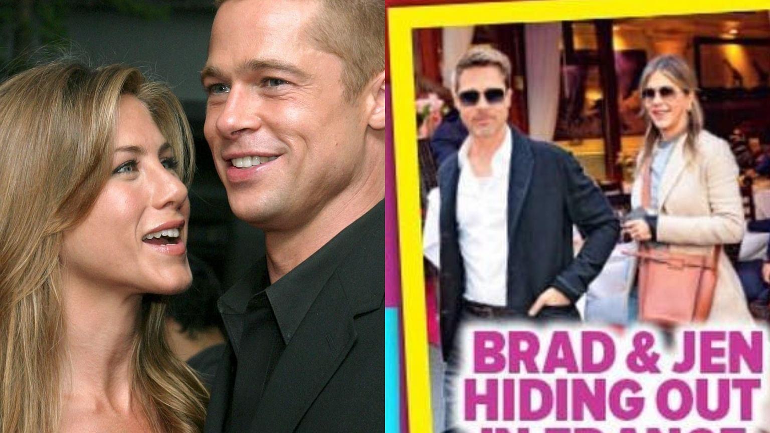 Kia Of Bradley >> Brad Pitt i Jennifer Aniston mieli spotkać się w Paryżu ...