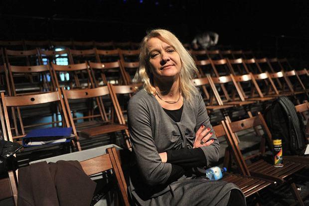 Aktorka Ewa Wójciak