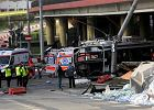 S� zarzuty dla kierowcy ci�ar�wki, kt�ra uderzy�a w trolejbus w Gdyni