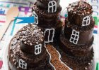 Czekoladowy zamek - tort krok po kroku