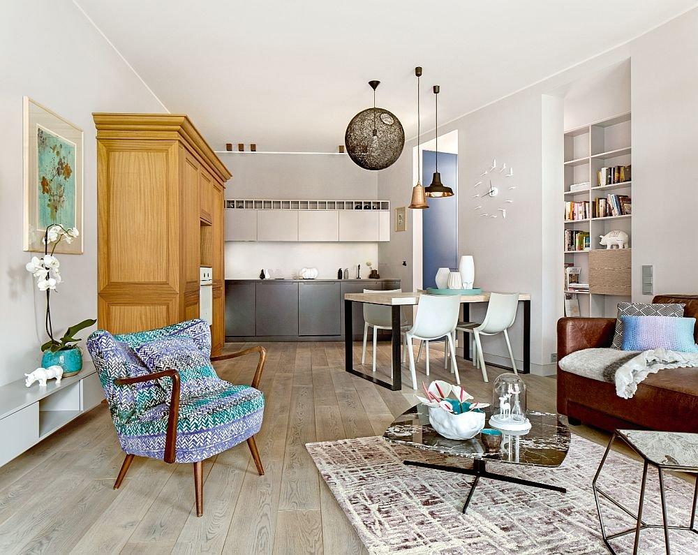 Wysmakowane mieszkanie architektki