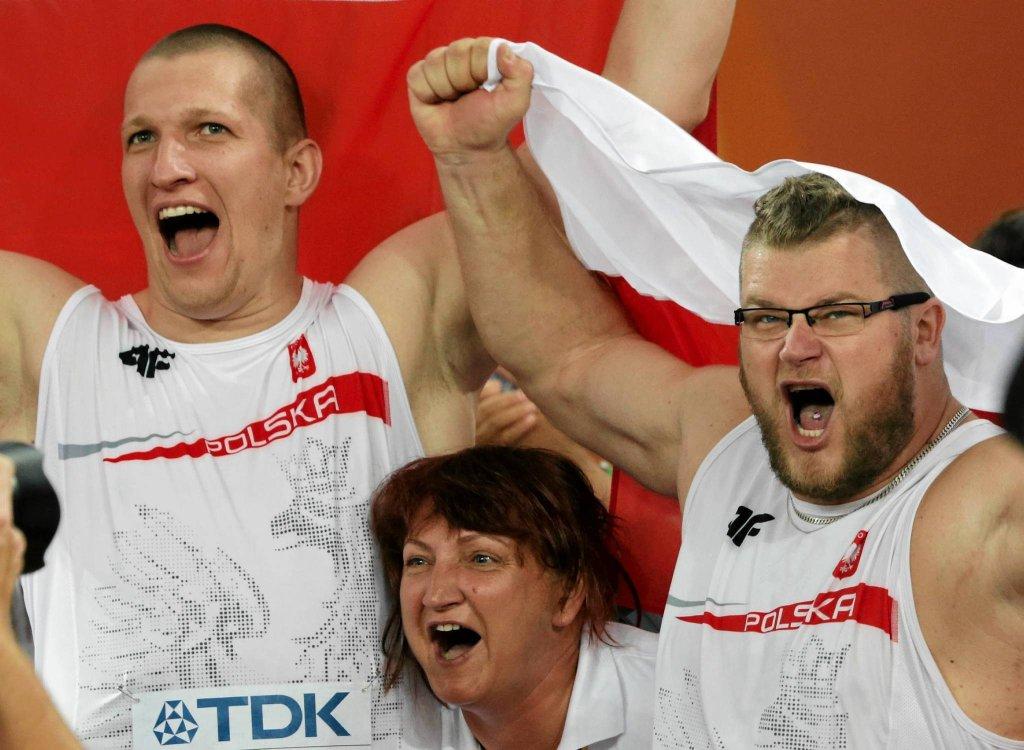 Od lewej: Wojciech Nowicki, Jolanta Kumor i Paweł Fajdek