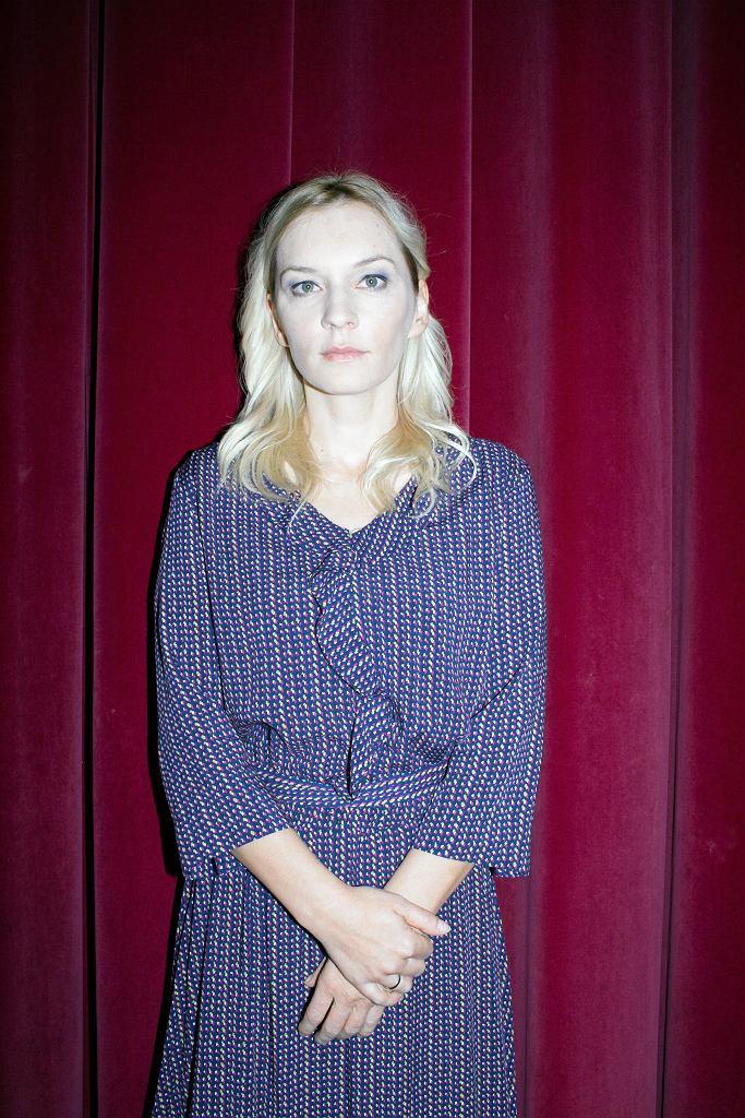 Agnieszka Przepiórska zagra Barbarę Sadowską w spektaklu 'Żeby nie było śladów' w Teatrze Polonia. / ALBERT ZAWADA