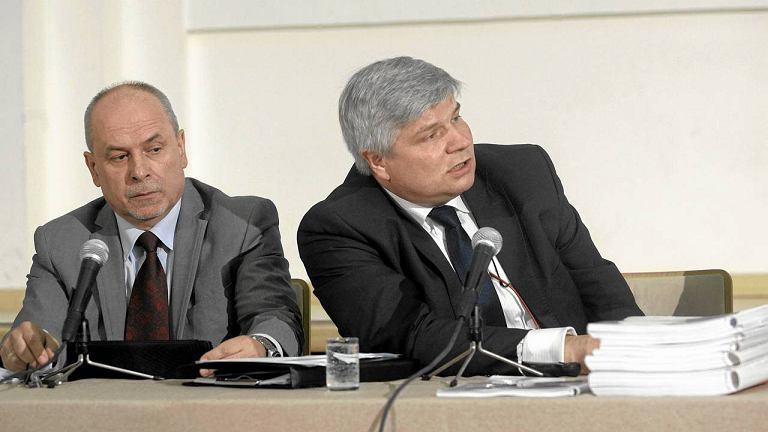 Maciej Lasek i kpt. Wiesław Jedynak