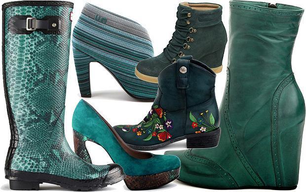 99cd9629e9545 Buty w modnych kolorach na jesień i zimę 2012/13