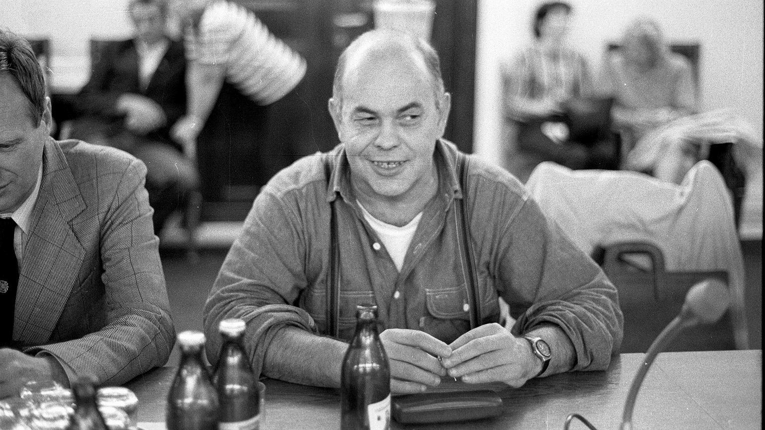 Jacek Kuroń, 1990 r.
