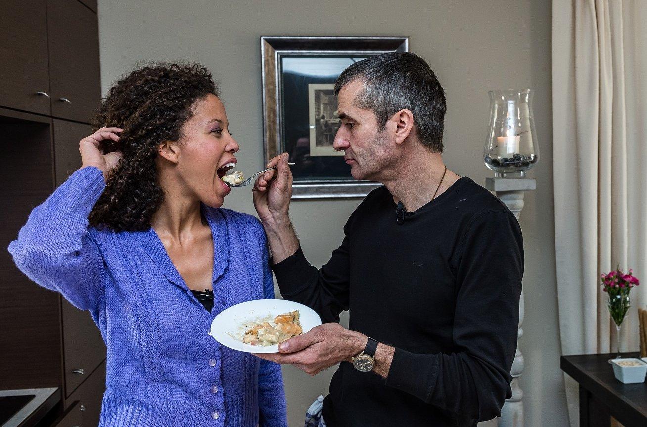 Irek Ciara z żoną w programie