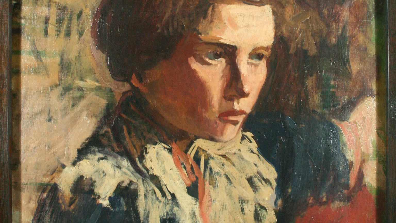 Portret Zofii Żeleńskiej autorstwa Włodzimierza Tetmajera