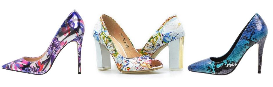 cea7d8a69b4e3 Wzorzyste buty - najpiękniejsze modele sezonu
