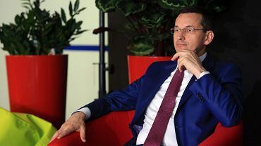 Wicepremier i minister Mateusz Morawiecki