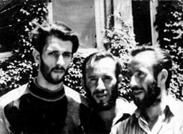 Wojtek Dąbrowski (z lewej) z Ejsmontami