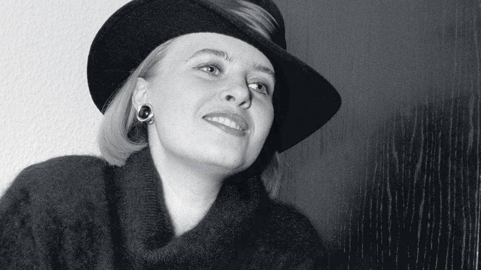 Marzena Domaros w 1992 r.