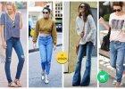 skinny jeans, mom jeans, dzwony, boyfriendy