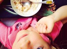 Orzechowy ryż z prażonym jabłkiem - ugotuj