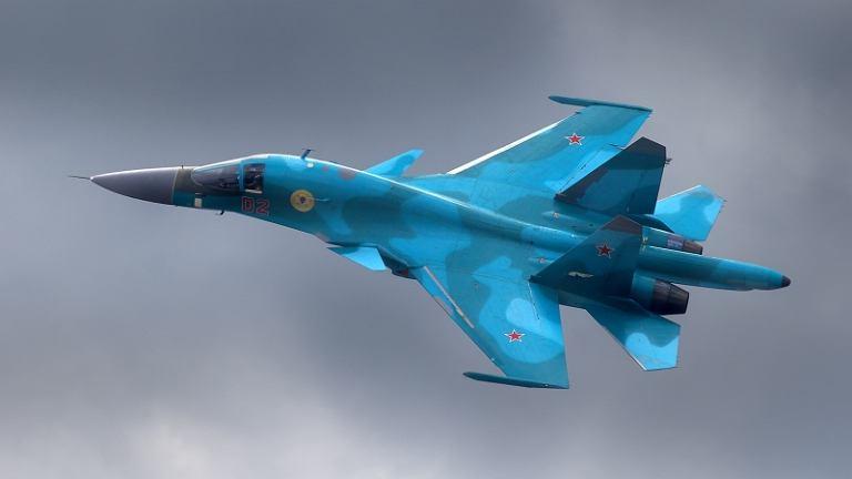 Najbardziej zaawansowany technologicznie spośród maszyn rosyjskiego lotnictwa - Su-34