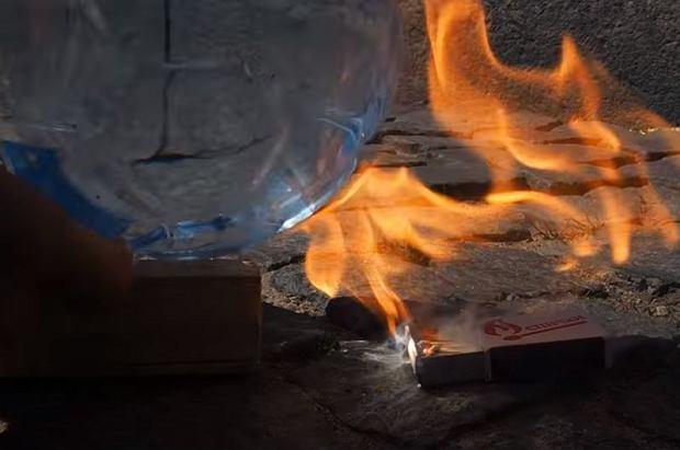 Butelka, która wznieca ogień