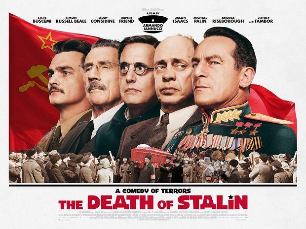 Komedia o śmierci Stalina jest najzabawniejszym filmem roku?
