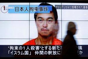 Kraj Kwitn�cej Wi�ni w szoku po ujawnieniu nagrania z egzekucji Japo�czyka w Syrii
