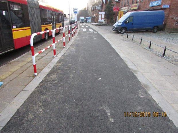 Rowerowy pełnomocnik przeprasza za ścieżkę przy Łukowskiej. Będą poprawki