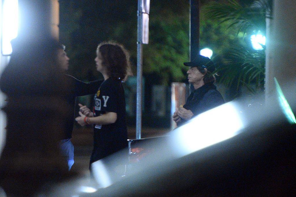 Mick Jagger z synem Lucasem zwiedzają Warszawę