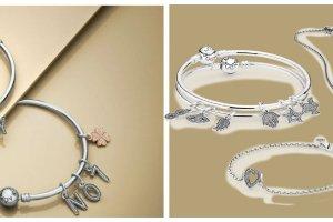 Symbole i cyfry ze srebra i r�owego z�ota - nowa kolekcja bi�uterii Pandora