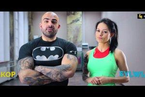 Akop i Sylwia Szostak. Trening brzucha [Cz.1]
