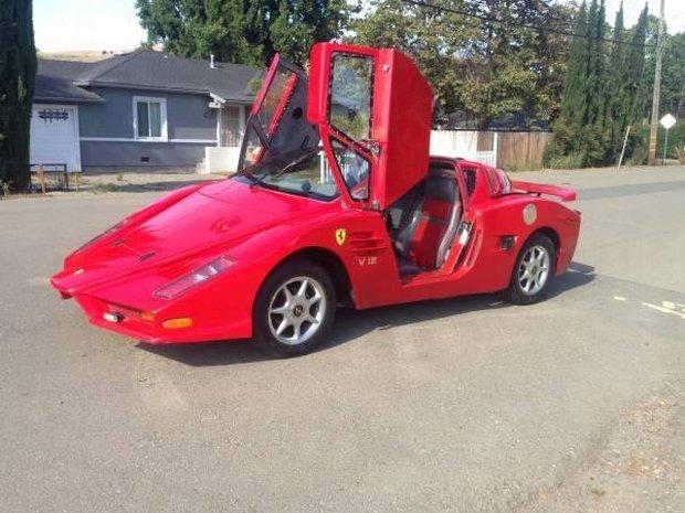 Replika | Właściciel twierdzi, że to Ferrari Enzo