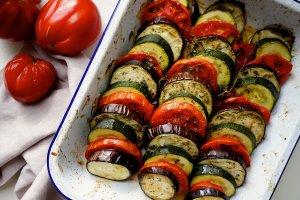 Jedzenie na czasie: Tian z letnich warzyw